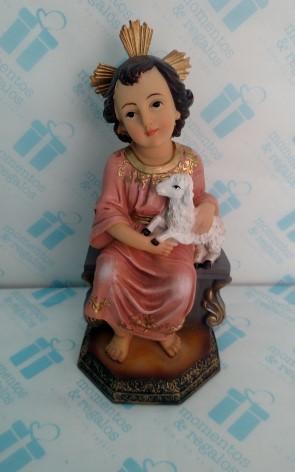 Niño Jesús Con Oveja 1
